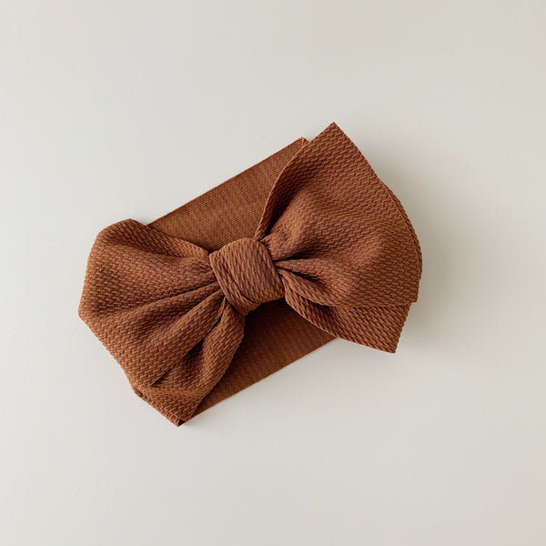 Coffee | Big Bow Headband