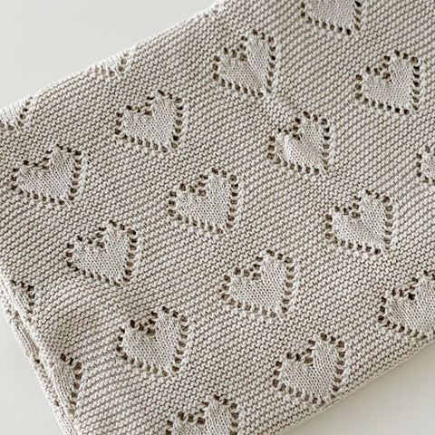 Fawn | Heirloom Baby Blanket