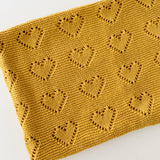 Golden Mustard | Heirloom Baby Blanket