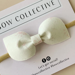 Dandelion | Fabric Mabel Bow