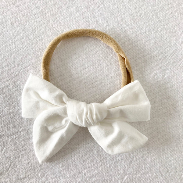 Milk | Pinwheel Hair Bow
