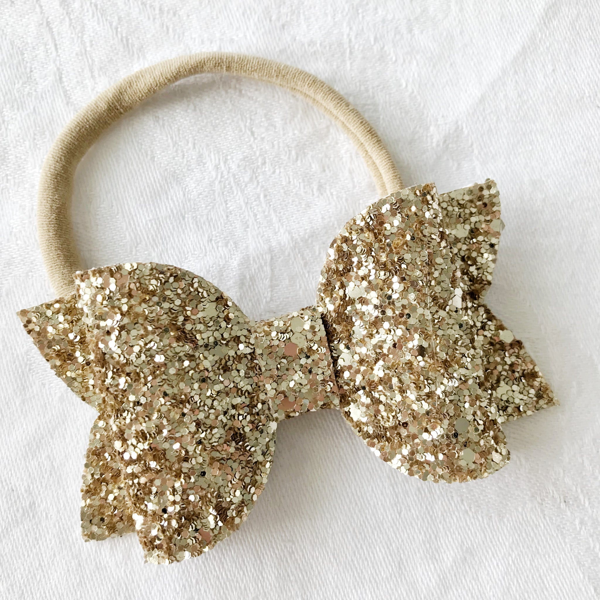 Champagne Gold | Paloma Luxe Hair Bow
