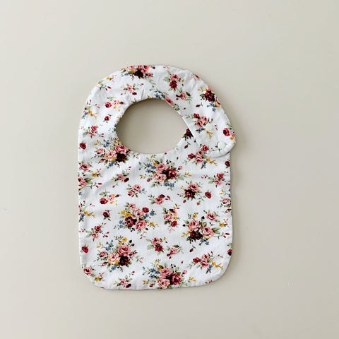 English Rose | 100% Cotton Baby Bib