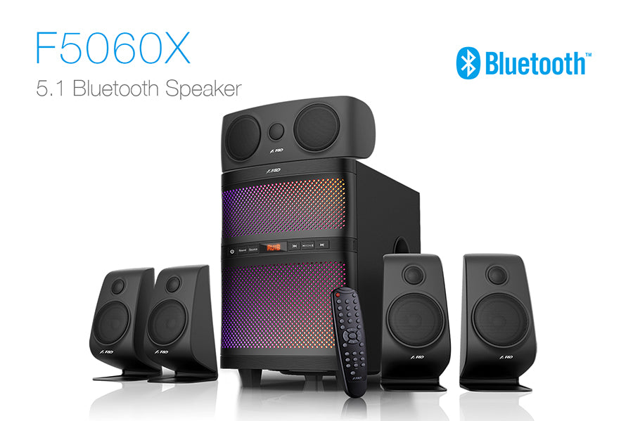 F&D F5060X 5.1 Bluetooth Speakers