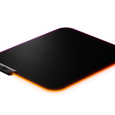 SteelSeries QCK Prism RGB Cloth Gaming Mousepad Medium (PN:63825)