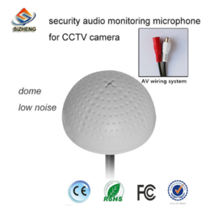 Sizheng Security Audio Monitoring Mic for CCTV
