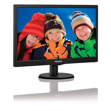 Philips 193V5LSB2/71 18.5in 1366x768 5ms 60Hz TFT W-LED Monitor