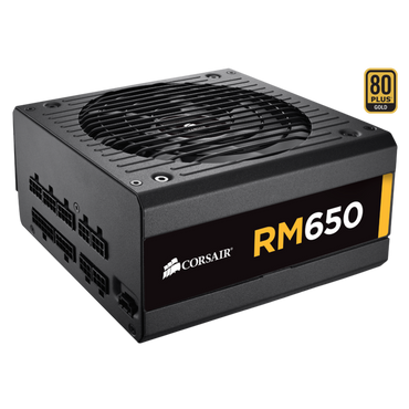 Corsair RM650 GOLD 650watts 80+ Full Modular Power Supply CP-9020194-NA