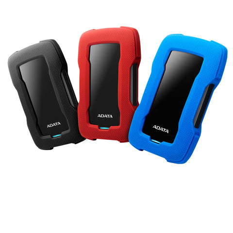Adata DashDrive HD330 1TB Shockproof USB 3.2 (black / blue / red)