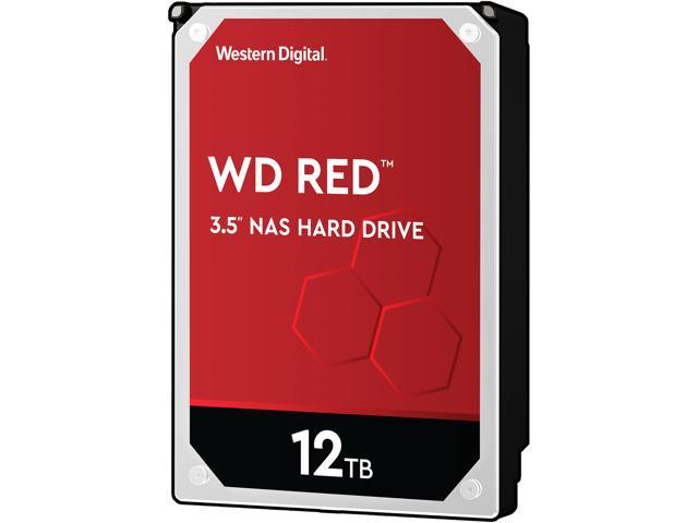 Western Digital WD Red 12TB WD120EFAX Hard Drive for Nas