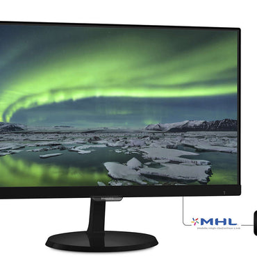 Philips 227E7QDSB/71 21.5in 1920x1080 30Hz 5ms AH-IPS W-LED Monitor