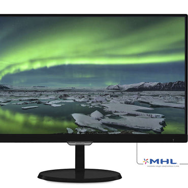 Philips 227E7QDSB 21.5in 1920x1080 30Hz 5ms AH-IPS W-LED Monitor
