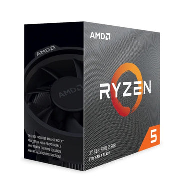 AMD Ryzen 5 3600 6-Core 12-Thread 3.6-4.20GHz 35mb 65W > (Must be purchased with B450 or higher motherboard)