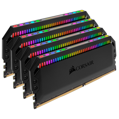 Corsair Dominator Platinum RGB 64GB Quad DDR4 3600 CL18 (CMT64GX4M4K3600C18)
