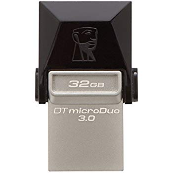 Kingston DTDUO3 MicroDuo OTG USB3.0 Flash Drive