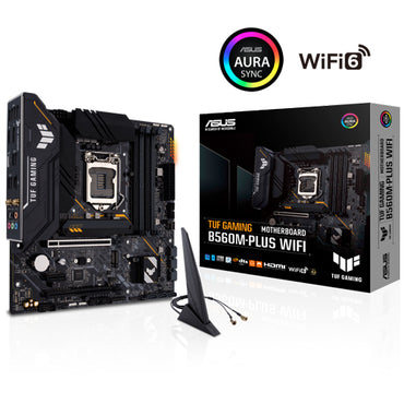Asus TUF Gaming B560M Plus WiFi (LGA1200) Motherboard
