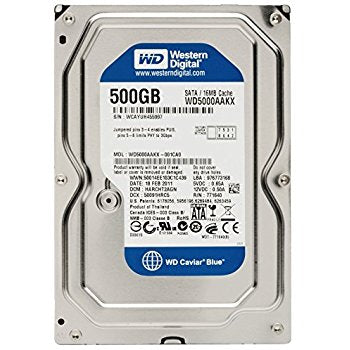 Western Digital WD Caviar Blue 500GB sata3