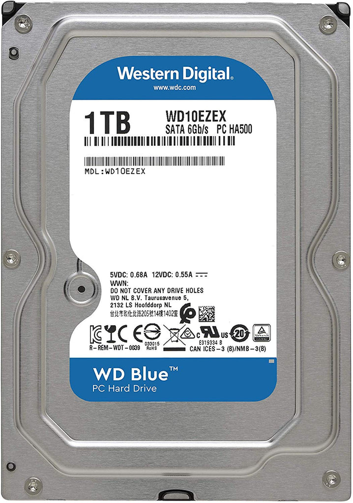 Western Digital WD Blue 1TB 64MB WD10EZEX