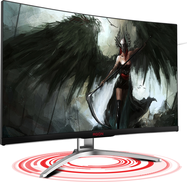 AOC AG322FCX 32in Curved 144Hz 1920x1080 Adaptive Sync Gaming Monitor