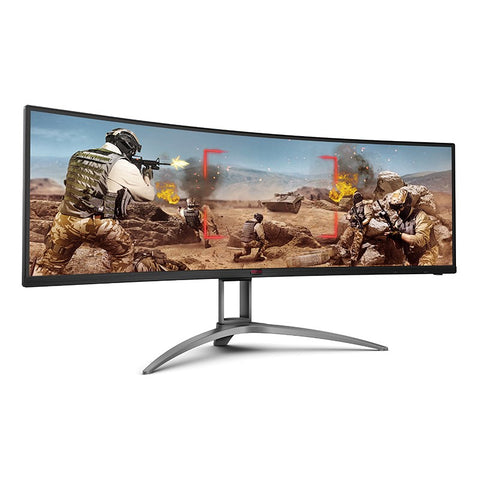 "AOC AGON AG493UCX 49"" Curved UltraWide 5K 1ms HDR FreeSync Monitor"