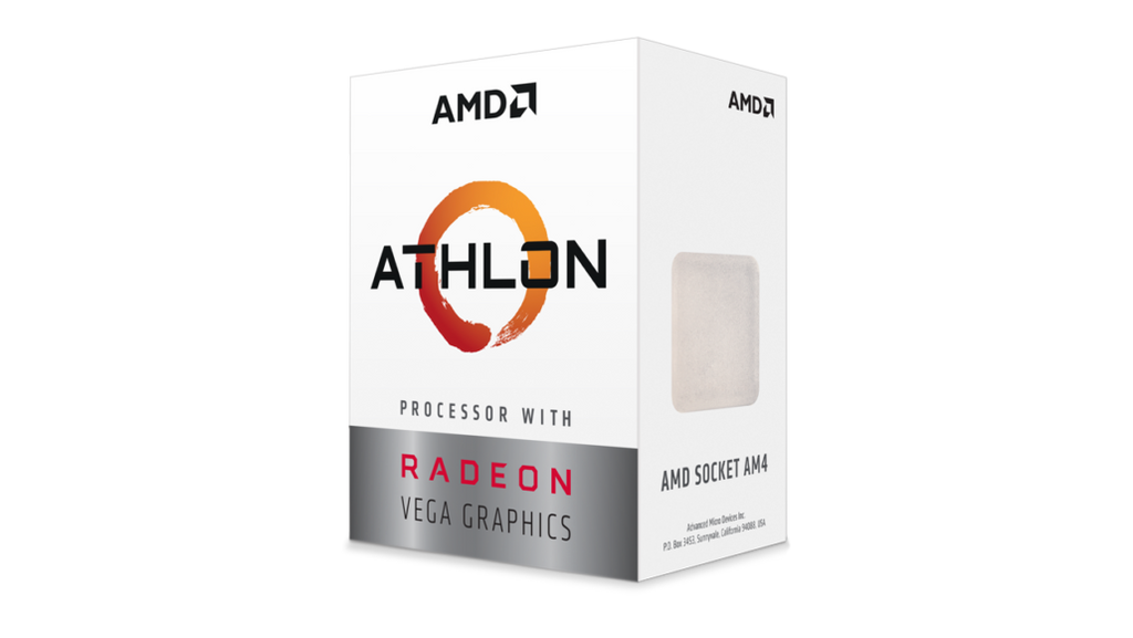 AMD Athlon 200GE 2-Core 3.20Ghz Vega 3 1000 > (Must be purchased with a compatible motherboard)