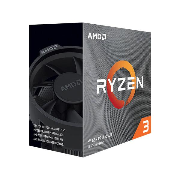 AMD Ryzen 3 3100 4-Core 8-Thread 3.60-3.90Ghz Processor > (Must be purchased with a compatible motherboard)