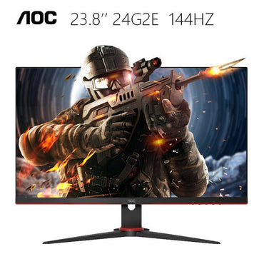 AOC 24G2E 24inch IPS 144Hz 1ms Adaptive Sync Gaming Monitor