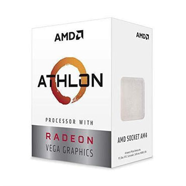 AMD Athlon 3000G 3.5 GHz Dual-Core AM4 Processor > (Must be purchased with a compatible motherboard)