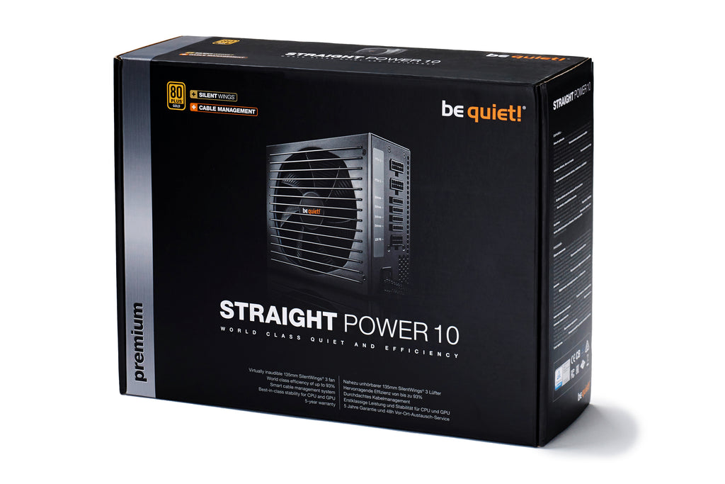 BeQuiet Straight Power 10 800W CM 80+ Gold
