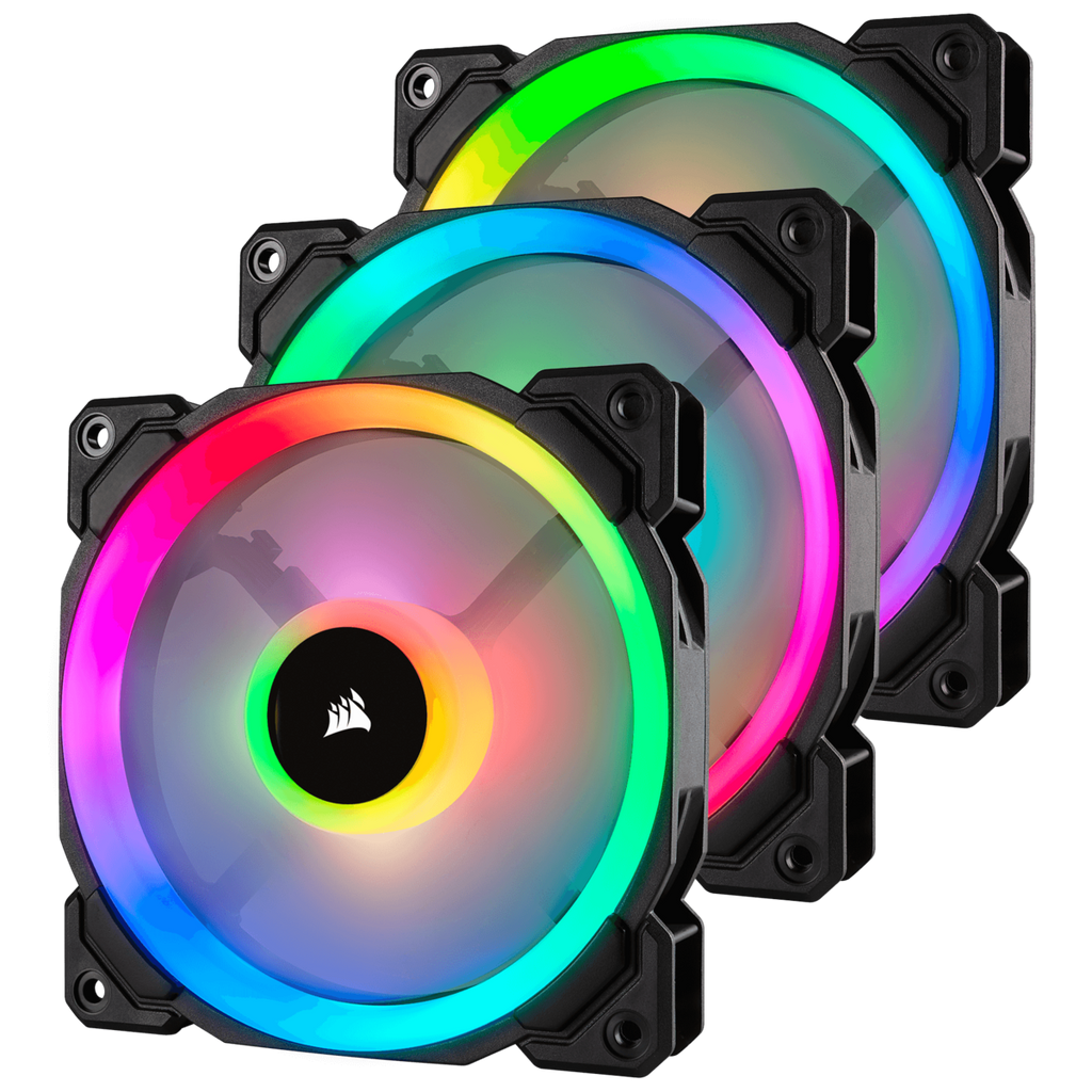 Corsair LL120 RGB 120mm 3 Pack CS-CO-9050072-WW