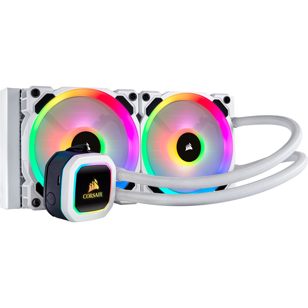 Corsair H100i RGB PLATINUM SE 240mm Liquid CPU Cooler CW-9060042-WW