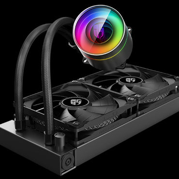Deepcool Castle 240EX 240MM RGB CPU Liquid Cooler (DP-GS-H12-CSL240EX)
