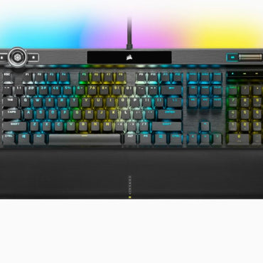 Corsair K100 RGB Optical-Mechanical Gaming Keyboard — CORSAIR OPX Switch CH-912A01A-NA