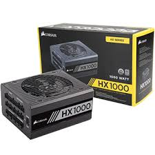 Corsair HX1000 1000watts 80Plus Platinum Modular (CS-CP-9020139-NA)