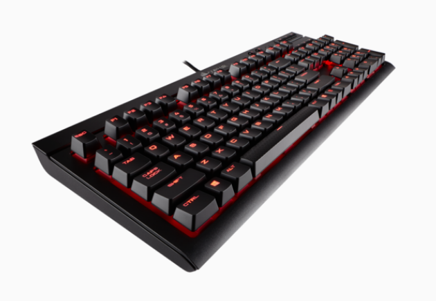 Corsair K68 Mechanical Keyboard red led, cherry mx red