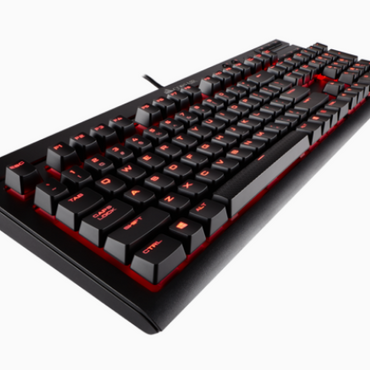 Corsair K68 Mechanical Keyboard Red Led Cherry MX Red CH-9102020-NA