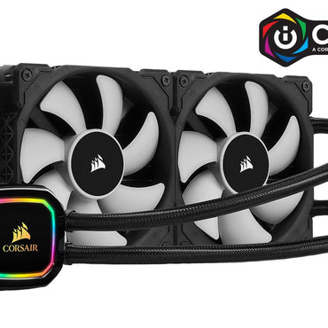 Corsair iCUE H100i RGB PRO XT Liquid 240mm CPU Cooler CW-9060043-WW