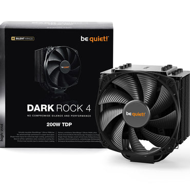 BeQuiet Dark Rock 4 CPU Cooler with Silent Wings
