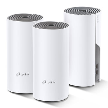 TPLink DECO E4 (3-Pack) AC1200 Whole-Home Mesh Dual Band WiFi
