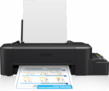 Epson L120 Inkjet with Original CIS
