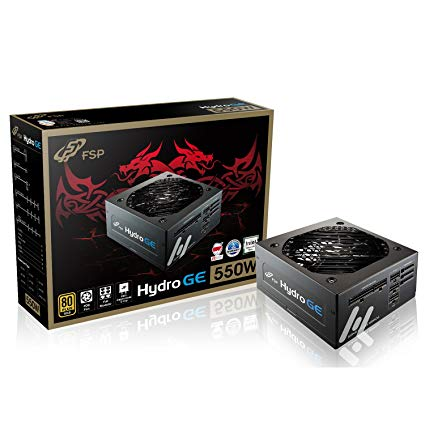 FSP Hydro GE 550W 80Plus Gold full modular
