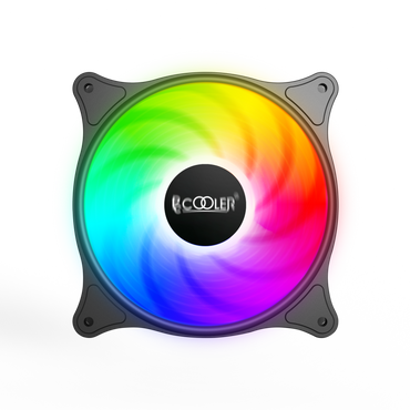 PCcooler Halo Dynamic Color 120mm Fan FX-120-3