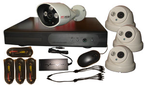 FosVision (package) 4CH DVR and 4 AHD Cam 720p/1.0mp night vsion 3.6/6mm