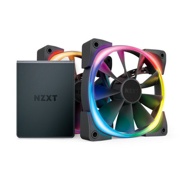 NZXT AER RGB 2 Starter Kit 2 x 140mm Fan HF-2814C-D1