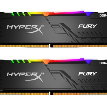 Kingston HyperX Fury RGB 16GB (dual) DDR4 3200 CL16 HX432C16FB3AK2/16