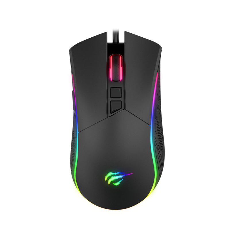 Havit HV-MS1001 RGB Backlit Programmable Gaming Mouse