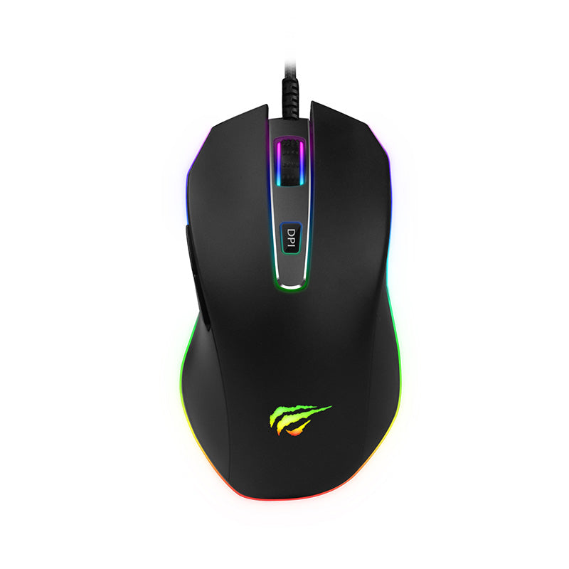 Havit HV-MS837 RGB Backlit Programmable Gaming Mouse