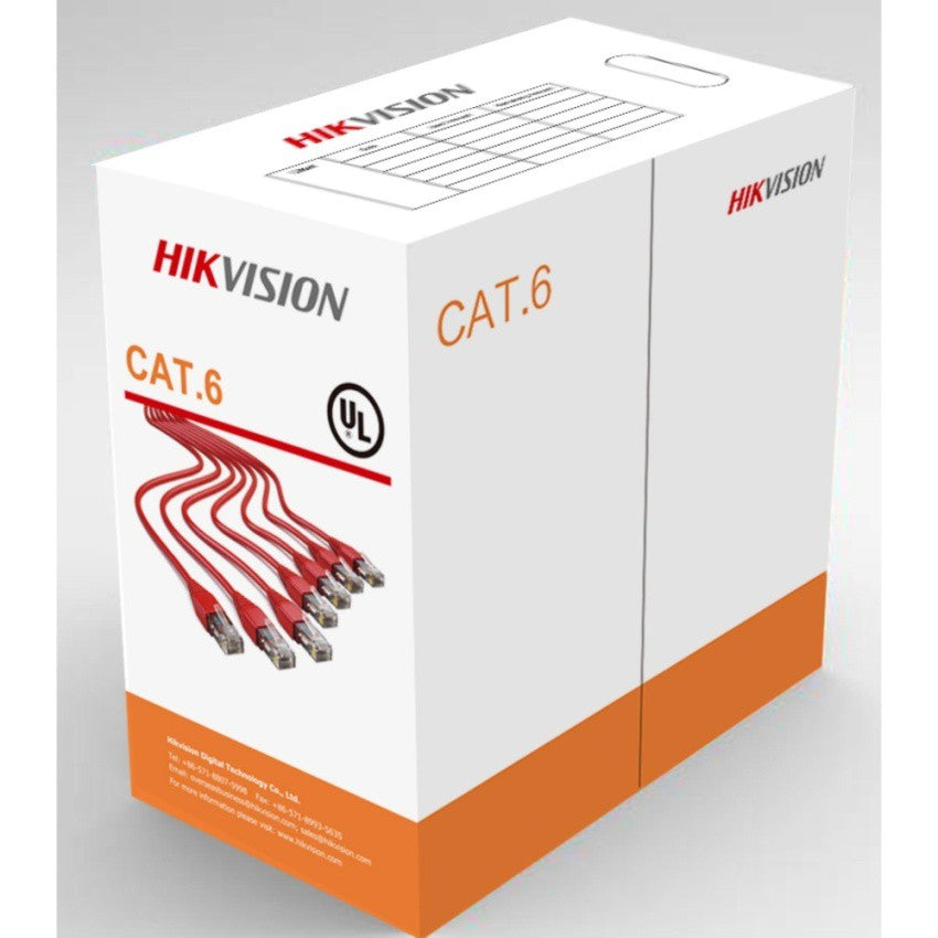 Hikvision Cat6 DS-1LN6-UU Network Cable 305 meters