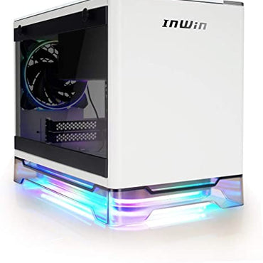 InWin A1 PLUS Mini ITX RGB Tower Case with 650W Power Supply Qi Wireless