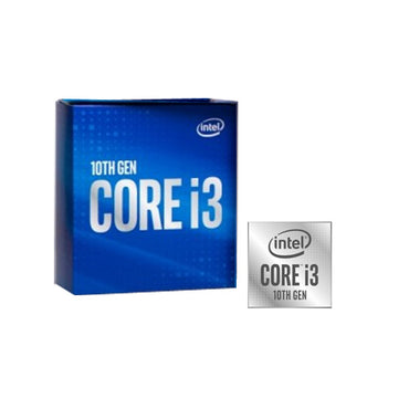 Intel Core i3-10100 Processor 6M Cache up to 4.30 GHz > (Must be purchased with a compatible motherboard)